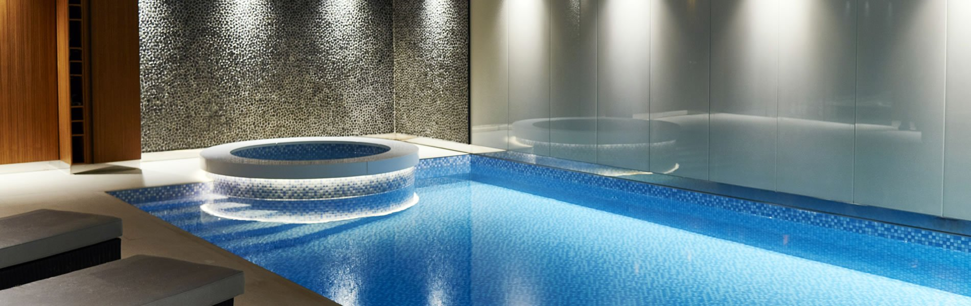 Roman pools swimming pool design installation Basement swimming pool construction