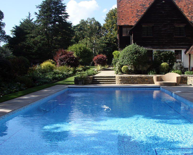 Swimming pool garden  Outdoor Swimming Pools - Roman Pools